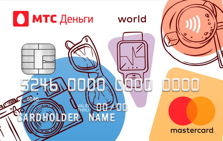 МТС деньги карта